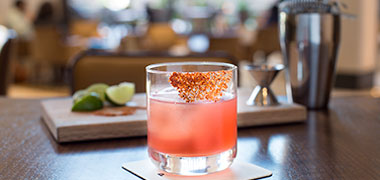 Enjoy Specialty Cocktails at Plateia