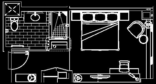king room floor plan