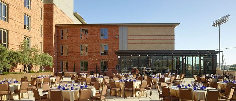 UCLA Luskin Conference Center Centennial Terrace