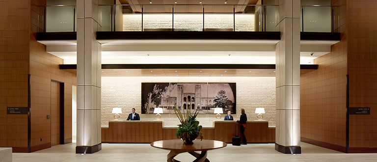 UCLA Luskin Conference Center Front Desk