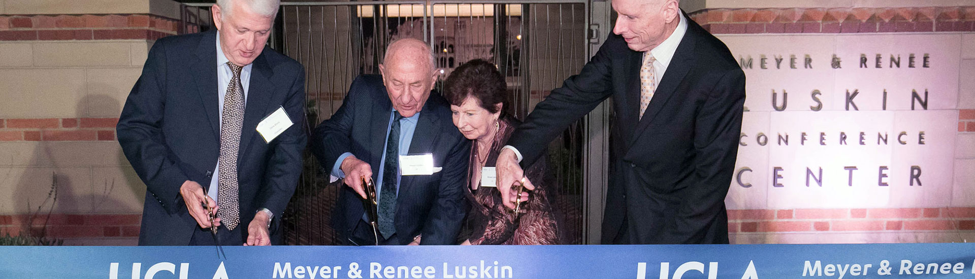 UCLA Luskin Conference Center Ribbon Cutting