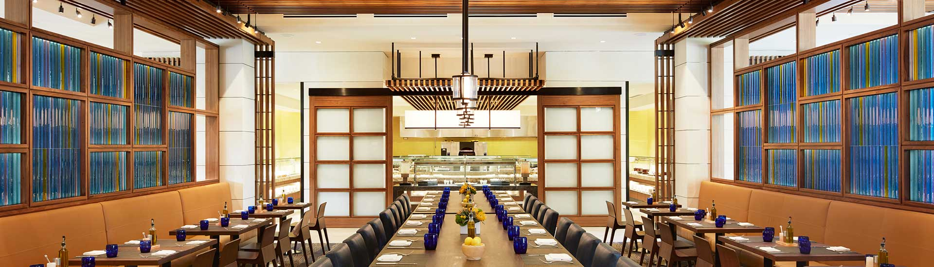 Plateia restaurant at ucla luskin conference center and hotel