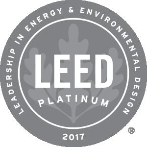 Logo LEED 2017 Platinum
