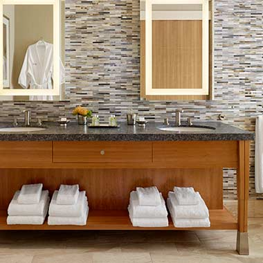 The Presidential Suite — Master Bath